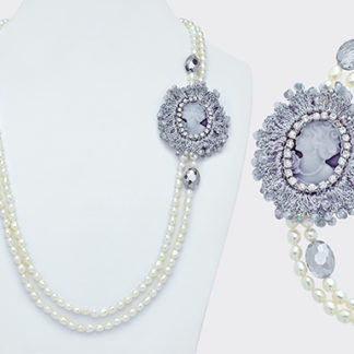 collana perle mikiko mademoiselle mc7066p0fdbi067